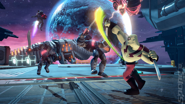 Disney Infinity 2.0: Marvel Superheroes - PS4 Screen