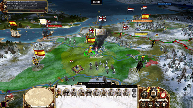 Screens: Empire: Total War & Napoleon: Total War Game of the