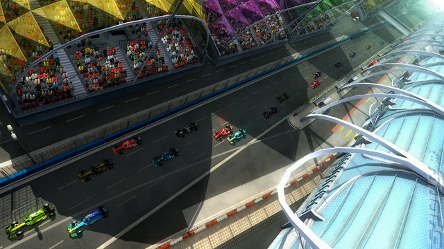 F1 2012 - PS3 Screen