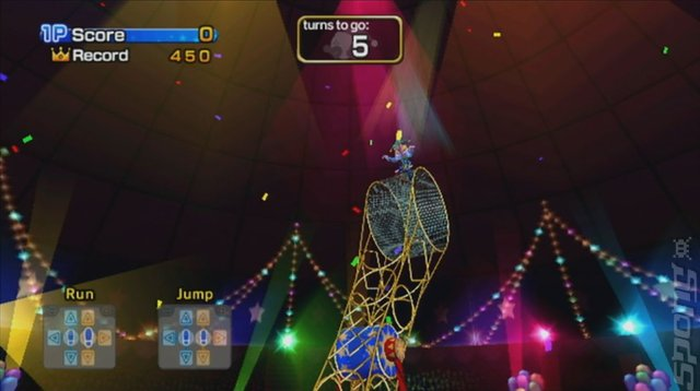 Family Trainer: Magic Carnival - Wii Screen