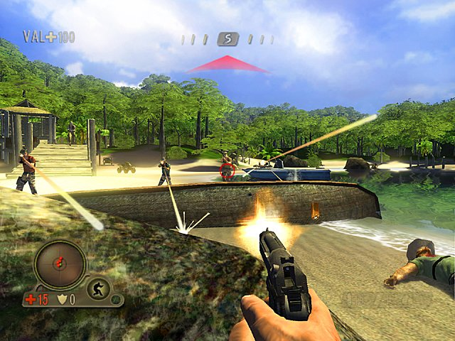 Far Cry Instincts - Xbox Screen