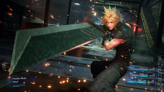 Final Fantasy VII Remake - PS4 Screen