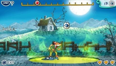 Geronimo Stilton in the Kingdom of Fantasy - EUR [PSP]