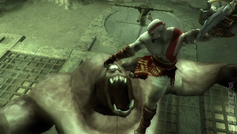 God of War: Chains of Olympus - PSP Screen