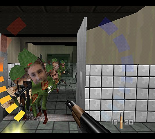Goldeneye 007 - N64 Screen
