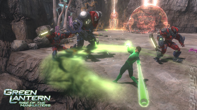 Green Lantern Rise of the Manhunters Xbox 360   - Green Lantern Rise of the Manhunters-PAL-XGD2