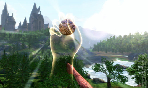 Harry Potter for Kinect - Xbox 360 Screen