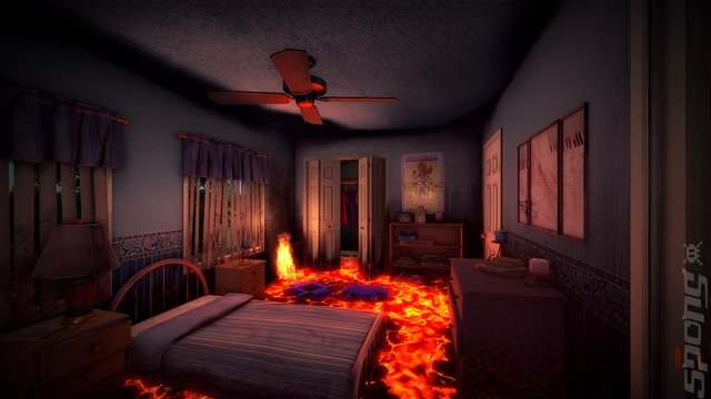 Hot Lava Editorial image