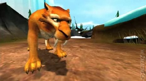 Ice Age: Dawn of the Dinosaurs - Xbox 360 Screen