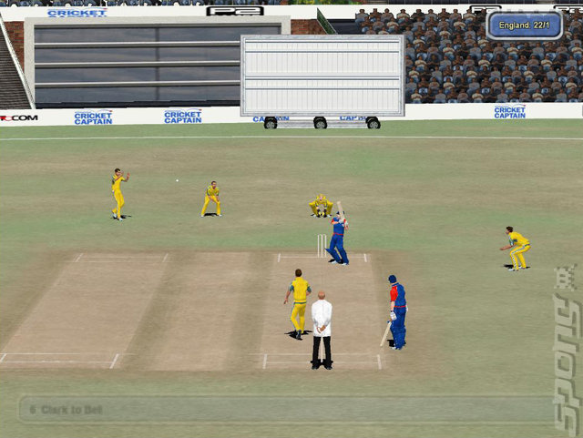 International Cricket Captain 2009: Ashes Edition - PC Screen