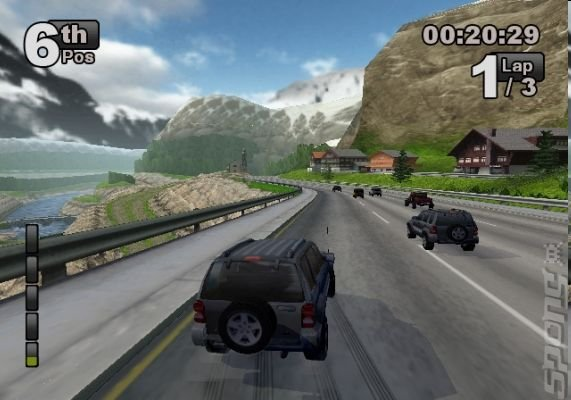 Jeep Thrills - PS2 Screen