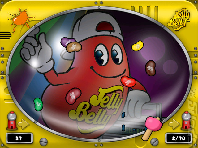 Jelly Belly: Ballistic Beans - Wii Screen