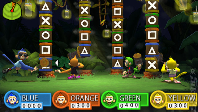 Jungle Party - PSP Screen
