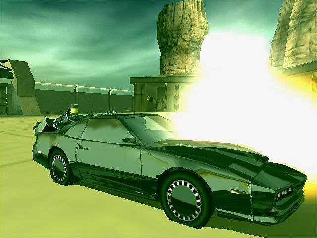 Knight Rider 2 - PS2 Screen