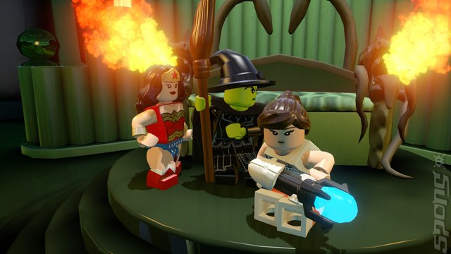 LEGO Dimensions - Wii U Screen
