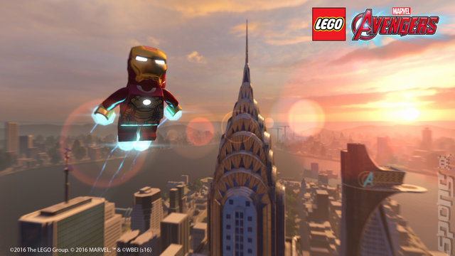 LEGO Marvel Collection - PS4 Screen