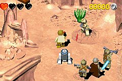 LEGO Star Wars II: The Original Trilogy - GBA Screen