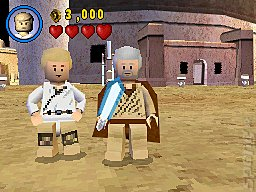 LEGO Star Wars II: The Original Trilogy - DS/DSi Screen