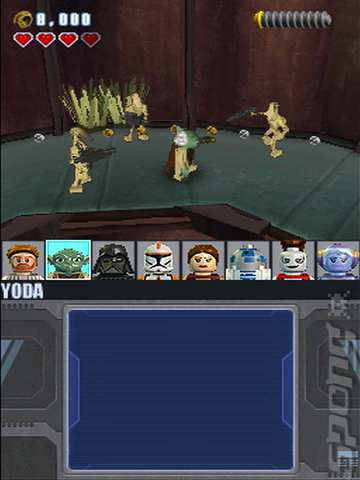 LEGO Star Wars III: The Clone Wars - DS/DSi Screen