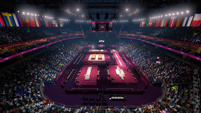 London 2012: The Official Video Game of the Olympic Games - Xbox 360 Screen