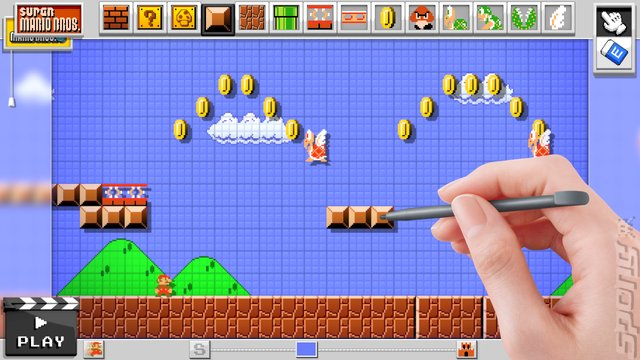 Super Mario Maker Editorial image