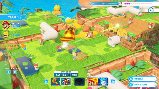 Mario + Rabbids Kingdom Battle - Switch Screen