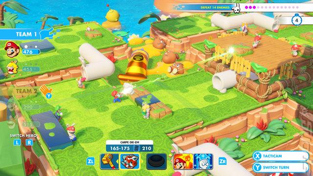 Mario + Rabbids Kingdom Battle Editorial image