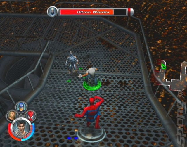 Screens: Marvel: Ultimate Alliance - PS2 (3 of 47)