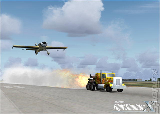 Microsoft Flight Simulator X - PC Screen