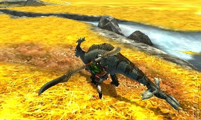 Monster Hunter 4 Ultimate Editorial image