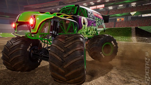 Monster Jam: Steel Titans - PS4 Screen