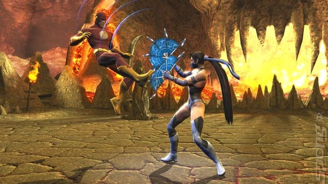 Mortal Kombat Vs. DC Universe - PS3 Screen