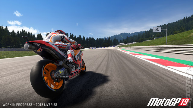 MotoGP19 - Switch Screen