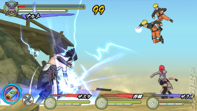 Screens Naruto Shippuden Ultimate Ninja Heroes 3 Psp