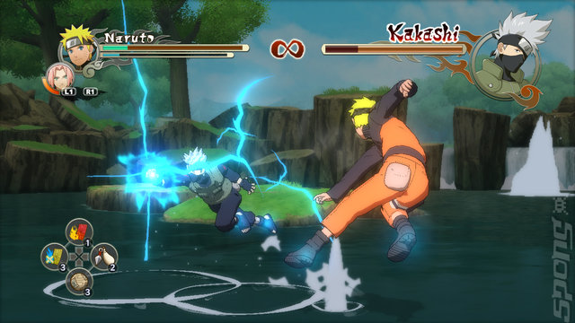 Naruto Shippuden: Ultimate Ninja Storm 2 - Xbox 360 Screen
