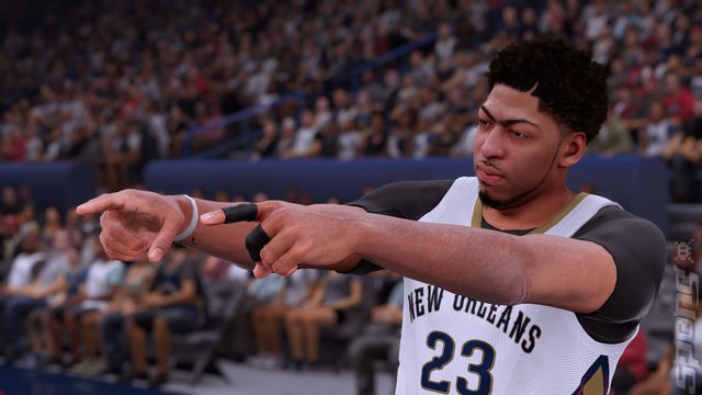 NBA 2K16 - PS4 Screen