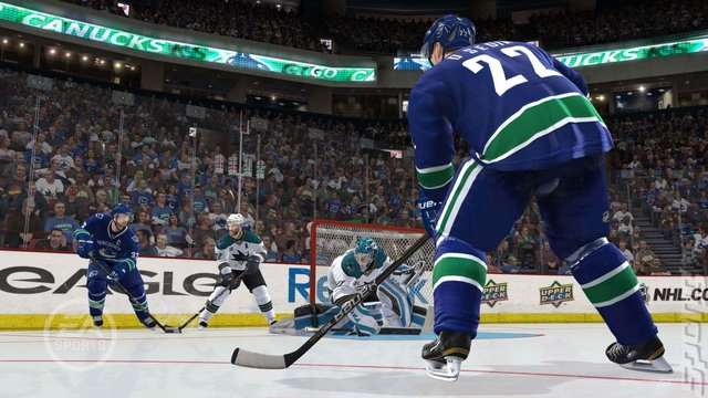 NHL 12 - PS3 Screen