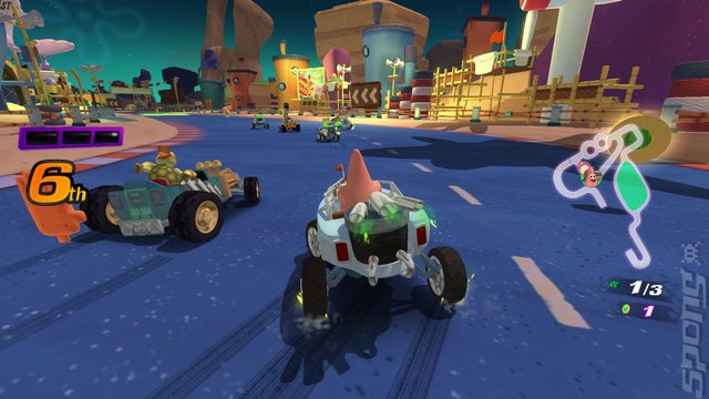 Nickelodeon Kart Racers - Xbox One Screen
