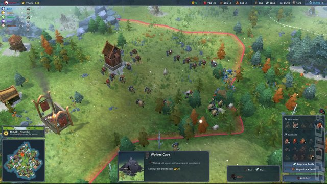 Northgard - Switch Screen