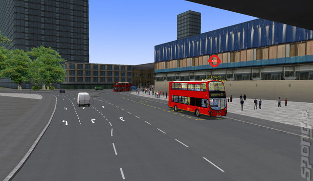 OMSI 2 Add-On: London - PC Screen