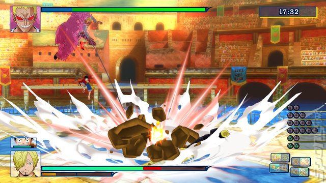 One Piece: Unlimited World: Red - Wii U Screen