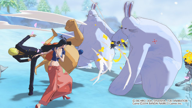 One Piece: Unlimited World: Red - PS3 Screen