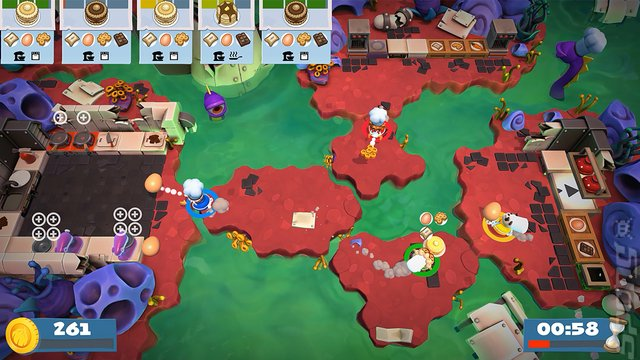 Overcooked 2 - PS4 Screen