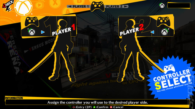 Persona 4 Arena - Xbox 360 Screen