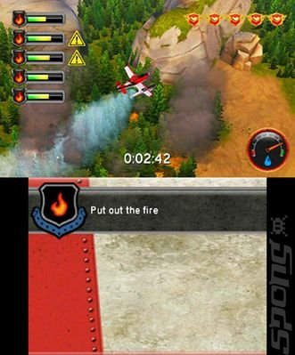 Disney: Planes: Fire & Rescue - 3DS/2DS Screen