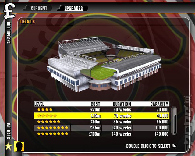 Premier Manager '10 - PC Screen