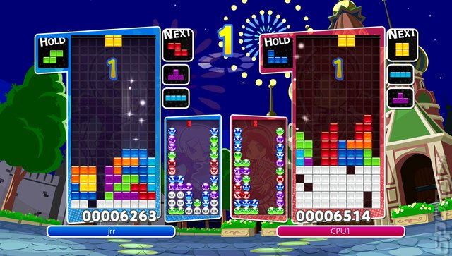 Puyo Puyo Tetris - PS4 Screen
