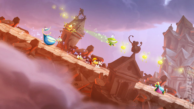 Rayman Legends Editorial image