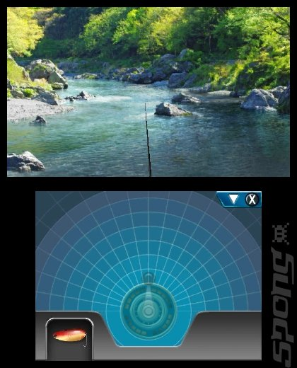 Reel Fishing Paradise 3D - 3DS/2DS Screen
