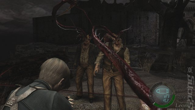Resident Evil 4 - PS4 Screen